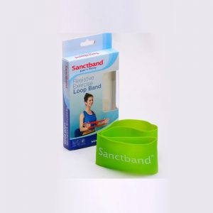 Resistive-Exercise-Loop-Band-Green-Color