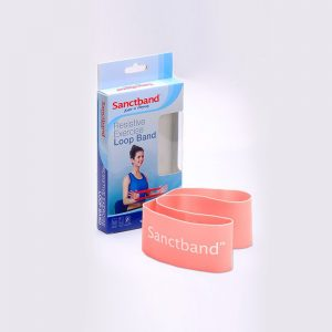 Resistive-Exercise-Loop-Band-Peach-Color