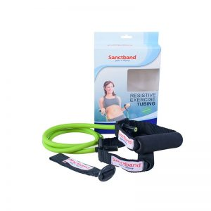 resistive-exercise-tubing-green-color