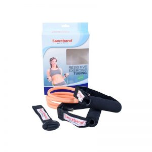 resistive-exercise-tubing-peach-color-2