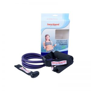 resistive-exercise-tubing-plum-color